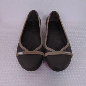 Adorable and Comfortable Crocs Ballet Flats